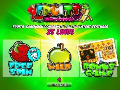 Fruits Dimension - World Match