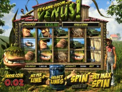 It Came From Venus Jackpot - Betsoft