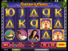 Sultan's Gold - Playtech